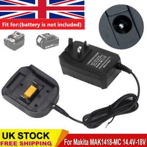 Charger 18V Li-ion for Makita BL1860 LXT BL1430 BL1850 BL1440 BL1445 Battery UK