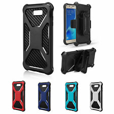 Samsung Galaxy Note 8 Rugged Holster Carbon Combo Case Cover | Screen Protector