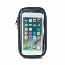 Motorcycle Cell Phone Case Black Nylon Zipper Cover Magnetic Gas Tank Bags