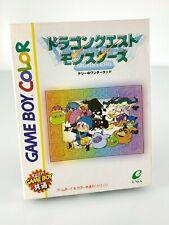 Dragon Quest Monsters - Jeu Game Boy Color GBC JAP Japan complet