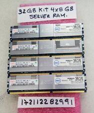 32GB PC DDR DDR2 PC2 PC2-5300F DDR2-667 5300 667 FB ECC-REG 240pin 4RX4