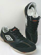 Retro Style Mens Black / White Umbro Football Astro Turf Trainers Size UK12