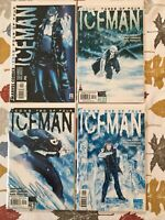 Iceman Complete 4 Issue Series 2001 NM Abnett, Lanning, Guardians Of The Galaxy