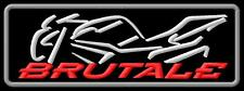MV Agusta Brutale bike 675 800 920 1090 ecusson brodé patche Thermocollant patch