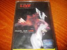 PEARL JAM - LIVE ON TWO LEGS MADE IN BULGARIA CASSETTE TAPE Bulgarian Press New