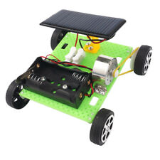 Kids Hands On Solar Vehicle Motor Car Engine Model kit Science Study Physics