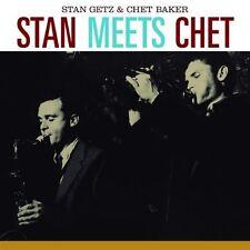 Stan Getz & Chet Baker - Stan Meets Chet [New CD] Spain - Import