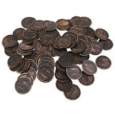 Plastic Treasure Coins Bronze Coins Toy for Birthday Party Bag Fillers Decor