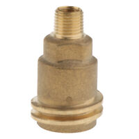 QCC1 ACME Nut Propane Gas Fitting Adapter with 1/4 Inch Male NPT