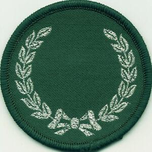 Millar Badge Patch 60mm Diameter Circle UK Manufactured