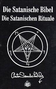 DIE SATANISCHE BIBEL - Anton Szandor LaVey BUCH - NEU