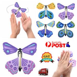 10/50/100x Magic Flying Butterfly Toy Anniversary Greeting Card Birthday Wedding
