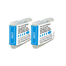 2 Cyan Replacement Ink for LC51C Brother MFC-230C MFC-240C MFC-440CN MFC-465CN