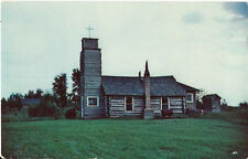 Postcard Wisconsin Tipler St Paul's Evangelical Lutheran Church Florence County