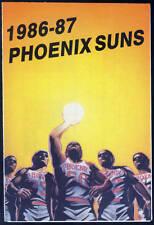 1986-87 PHOENIX SUNS BASHAS KTAR 620 BASKETBALL POCKET SCHEDULE FREE SHIPPING