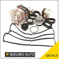 Fit 00-04 Ford Focus Mazda 2.0 DOHC ZETEC Timing Belt Water Pump Kit Valve Cover