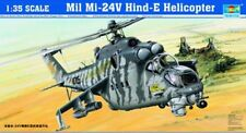 Trumpeter 1/35 Scale Model Helicopter Kit Mil Mi-24v Hind-e 05103