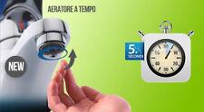Aeratore Risparmiotto® A TEMPO per lavabo risparmio acqua 87 %; timer 5 secondi