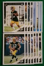 2018 Donruss Green Bay Packers Team Set,  Aaron Rodgers,  14 Cards 5 RC