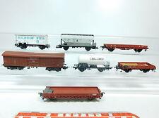 AT239-1# 7x Fleischmann/Liliput/Roco/Lima H0/DC Güterwagen: Eichhof etc 2. Wahl