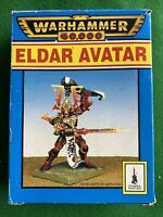 Warhammer 40k Games Workshop Eldar Avatar Khaine Mensha Metal Figure New boxed