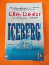 BOOK LIBRO ICEBERG Clive Cussler 1997 TEADUE (L58)