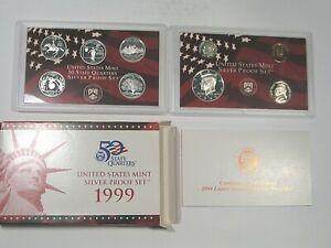 1999-s US Mint Proof Set.  #62