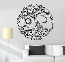 Vinyl Wall Decal Tree of Life Celtic Symbol Moon Sun Day Night Stickers (722ig)