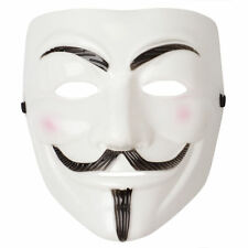 Unisex Men's V for Vendetta Mask Guy Fawkes Masquerade Horror Carnival Movie