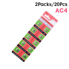 20Pcs AG4 GA4 SR626 376 377 565 D377 LR626 LR66 SR66 Button Cell Coin Battery A