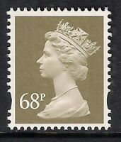 GB 2002 sg Y1736 68p Grey-Brown photogravure 2 bands MNH ex Y1723