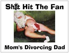 """Jail Prison Inmate Postcard """"Dad Is Santa"""""""