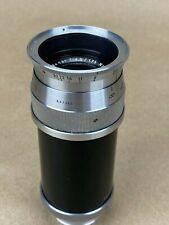 Schneider 135mm f/4.5 Xenar Vintage Lens for Exakta Mount Cameras - Nice !