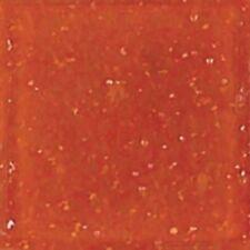 "75 3/4"" Pumpkin Orange Vitreous Glass Mosaic Tiles"