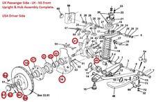 Lotus Esprit Front Upright - Lotus Esprit Front Hub - A082C4135F - Esprit Suspen