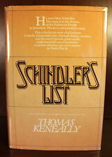 Thomas Keneally Schindler's List 1982 1st American Edition WWII Bio Liam Neeson