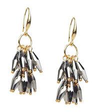 Glitter Party Earrings New Season Ella Jonte Statement Earrings Gold Grey