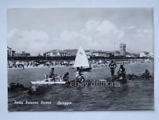 PORTO POTENZA PICENA Macerata spiaggia vecchia cartolina
