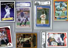 New listing 7 CARDS INC FRANK THOMAS,SAMMY SOSA ROOKIE, & BARRY BONDS RACE 2 70,MARK PRIOR
