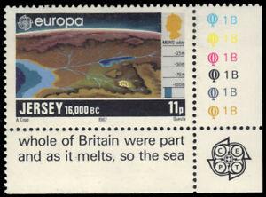 JERSEY 285 - Europa 16,000 BC  (pb37679)