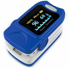 Aiesi Pulsossimetro Professionale da Dito con Display - Blu (SD0003DIA-FBA)