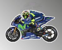 Valentino Rossi 46 MotoGP Racer M1 Motorcycle Sticker Decal - 150mm