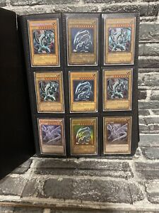 Yu-Gi-Oh Collection Binder! 360+ Cards w Sizeable  Blue Eyes Collection Starter!