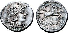 M. Marcius Mn. f. AR Denarius.