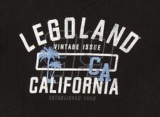 Tee Shirt, Legoland, Legoland California Vintage Issue, Black Large
