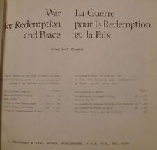 CORNFELD G. - LA GUERRE POUR LA REDEMPTION ET LE PAIX