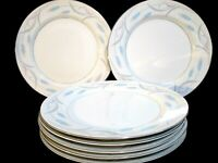 Valmont Royal Wheat Set of 7 Dinner Plates Made in Japan Fine China 10""