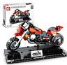 Sembo Blocksteine Cross Country Motorrad Rot Figur Spielzeug Geschenk DIY 171PCS