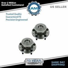 TRQ Wheel Bearing & Hub Rear Pair for Ford Fusion Milan MKZ Zephyr Mazda 6 ABS