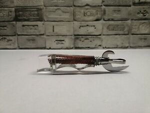 Vintage soviet beer bottle opener knife  and canned food. Handwork . USSR